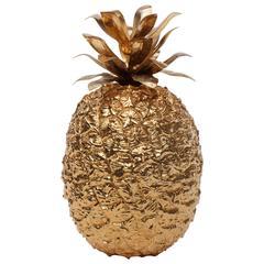 Gold Pineapple Ice Bucket, 1970s