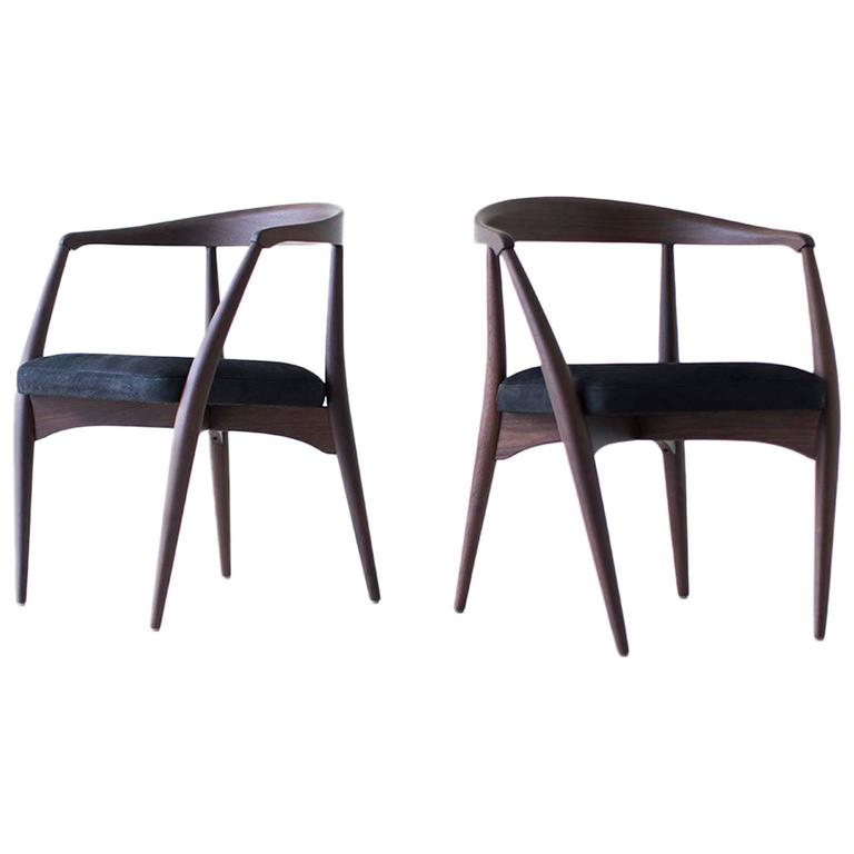 Lawrence Peabody Dining Chairs P-1708, Craft Associates® Furniture For Sale