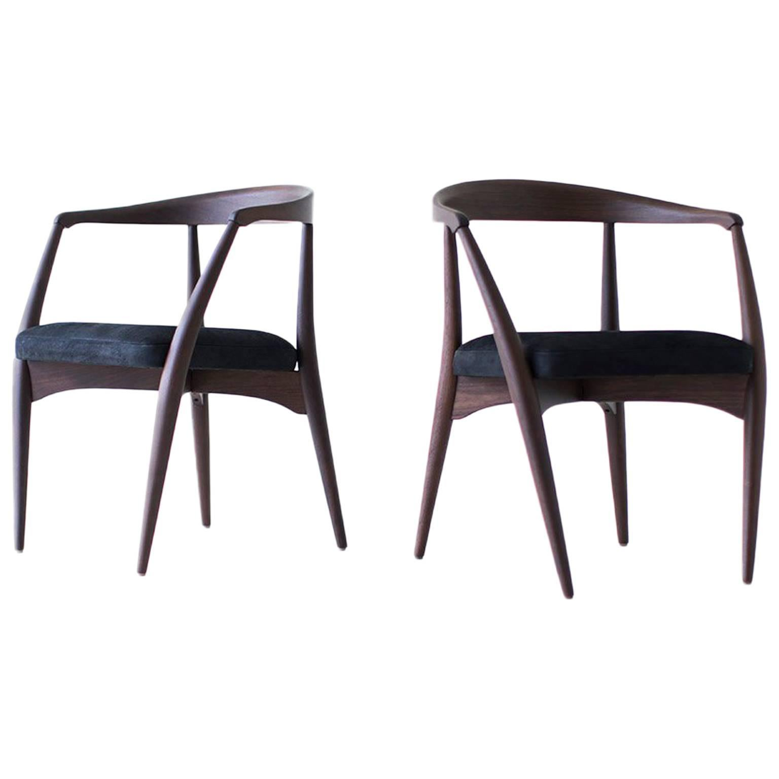 Lawrence Peabody Dining Chairs P-1708, Craft Associates® Furniture