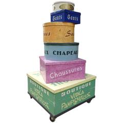 Mid-20th Century French Advertisement Box Display