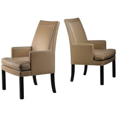 Roger Sprunger Pair of Dunbar Occasional Chairs, USA, 1960s
