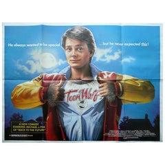 """""""Teen Wolf"""" Poster, 1985"""