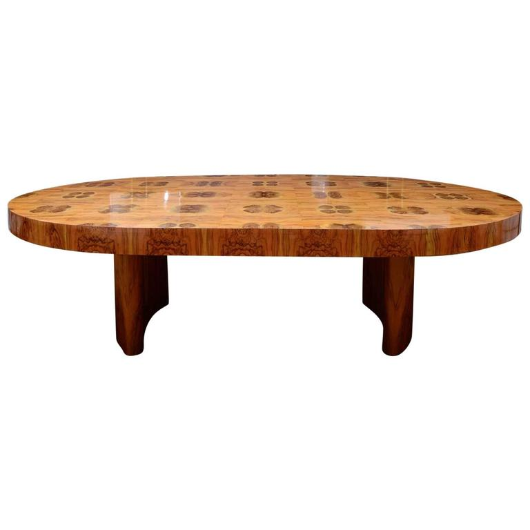 Exceptional Oval Dining Room Table