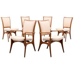 Vladimir Kagan #175A Dining Chairs, Set of Six
