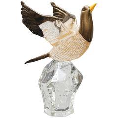 Mid-Century Murano Zanetti Unique Glass Piece