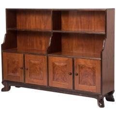 Peter Waals Cuban mahogany and ebony book case, England circa 1934