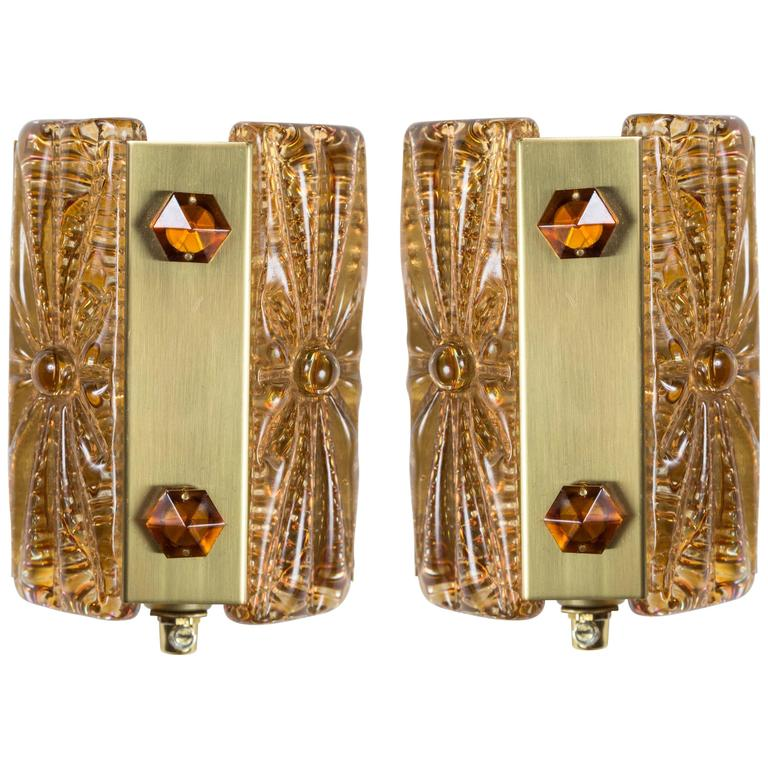 Pair of Belgian Sconces For Sale