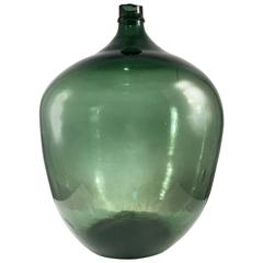 Large Blown Demijohn Bottle, France