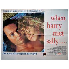 """""""When Harry Met Sally..."""" Film Poster, 1989"""