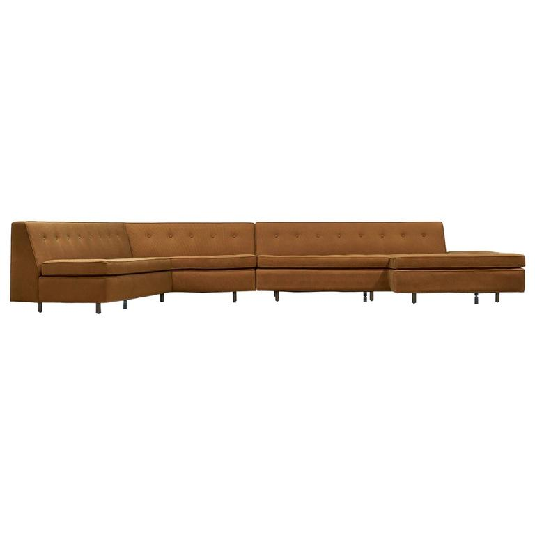Harvey Probber Two-Piece Sectional