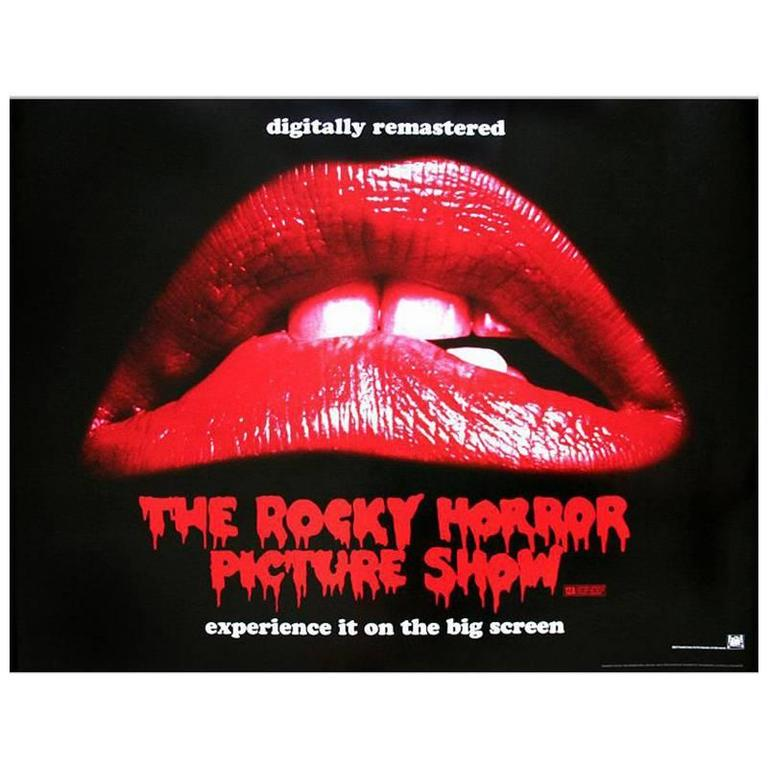 """The Rocky Horror Picture Show"" Film Poster, 2011 For Sale"