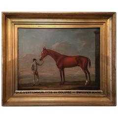18th Century English Equestrian Portrait, Francis Sartorius Attributed