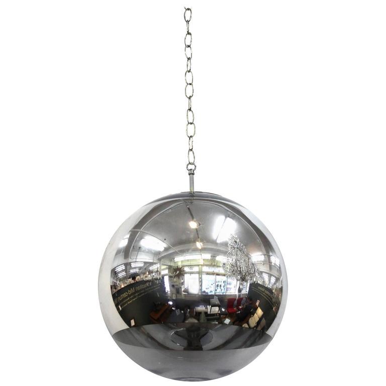 Mid-Century Globe Pendant