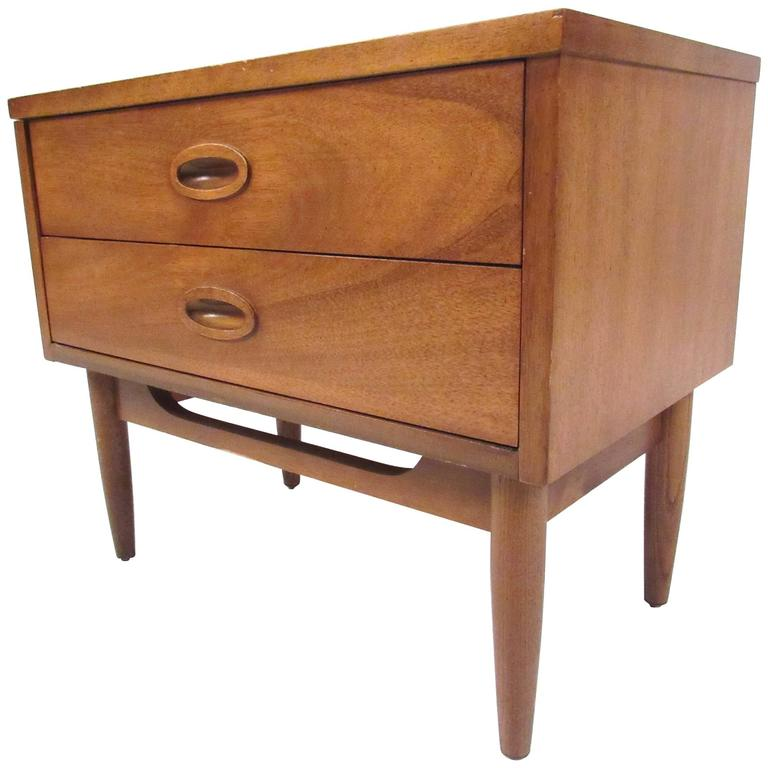 Mid Century Nightstand By Dixie Furniture Co For Sale At 1stdibs