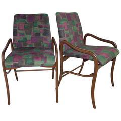 Enrico Ciuti Set of Six Dining Chairs