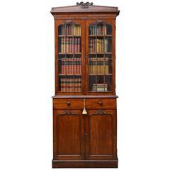 William iv Mahogany Bookcase