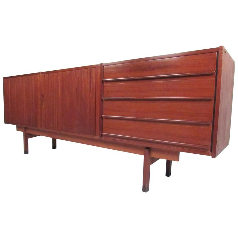 Scandinavian modern sideboard or television console for for Sideboard scandi