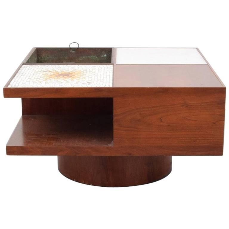 Vladimir Kagan Lit Coffee Table Model 440 For Sale At