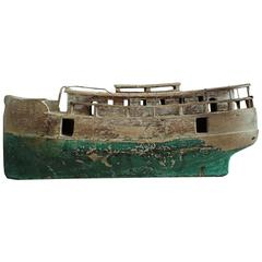 Early Antique Model Boat