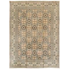 Beautifully Designed Antique Kashan Rug