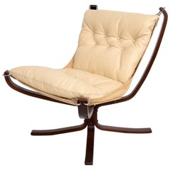 Mid-Century Danish Modern Falcon Chair by Sigurd Ressell for Vatne Møbler