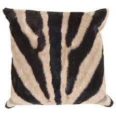 Zebra Hide Pillow