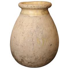 Large 18th Century Biot Jar