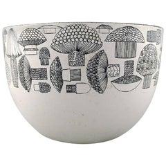 Kaj Franck, Bowl of Enameled Metal, Arabia / Finel, Finland, 1950s