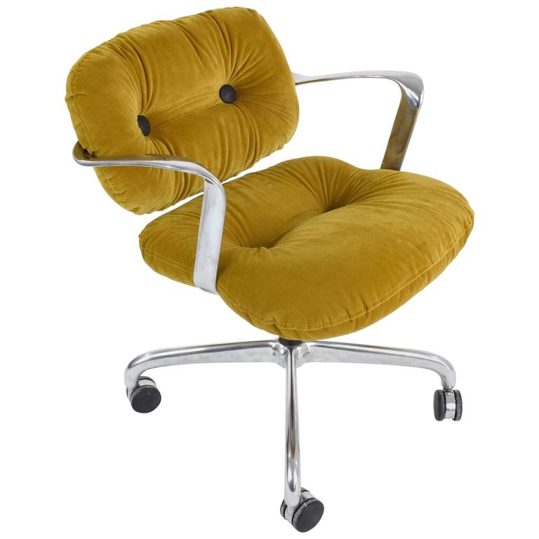 Mid Century Hannah Morrison For Knoll Desk Chair For Sale
