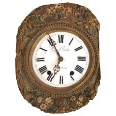 Magnificent Antique French Wall Clock