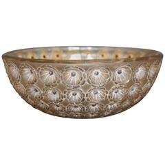Art Deco Lalique Nemours Bowl