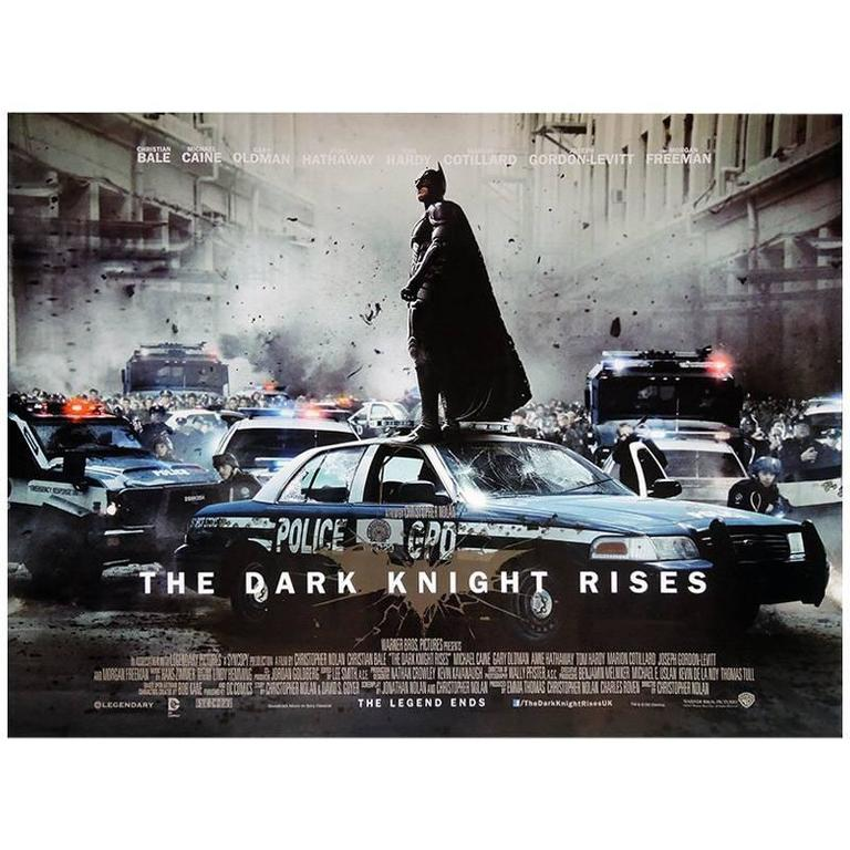 """The Dark Knight Rises"" Film Poster, 2012"