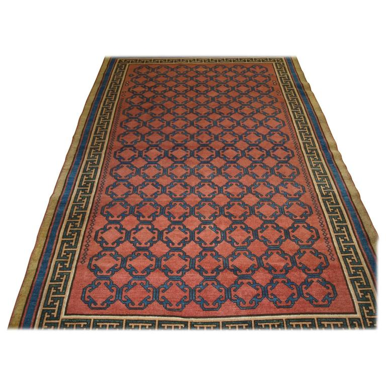 Very High Quality Turkish Copy Of A Classic 19th Century Khoton Rug For Sale At 1stdibs