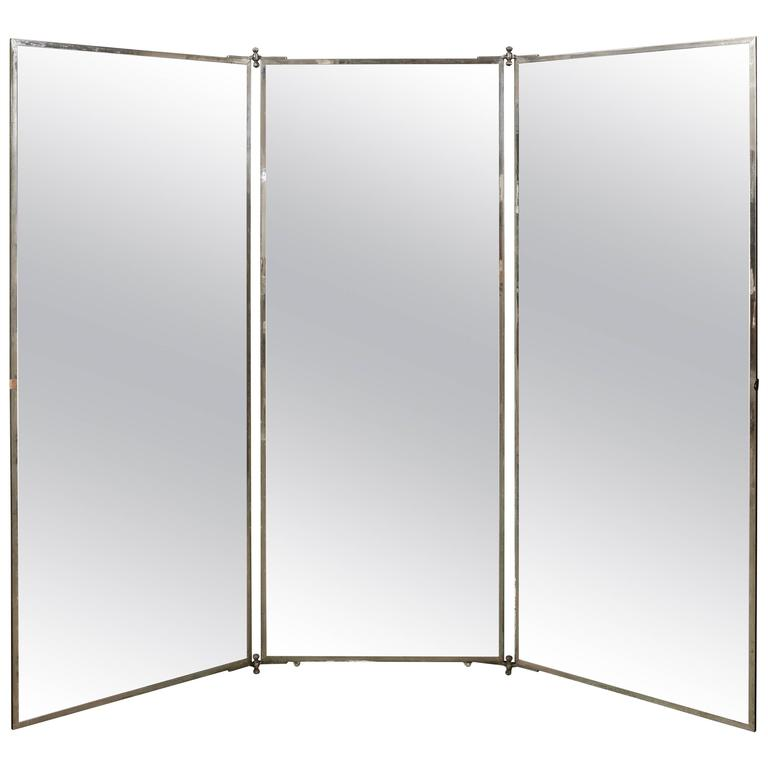 Brot France Folding Mirror For Sale At 1stdibs