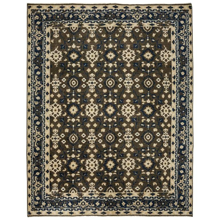 Brown modern area rug solo rugs for sale at 1stdibs for Modern area rugs for sale