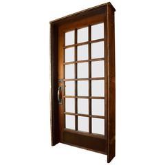 Quarter Sawn Oak Front Door with Jamb