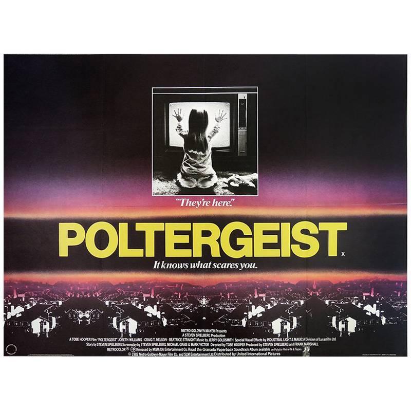 """""""Poltergeist"""", Poster, 1982"""
