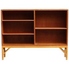Børge Mogensen Oak and Teak Bookcase