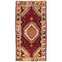 "Vintage Anatolian Rug, 2'6"" x 5'"