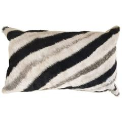 Zebra Hide Baguette Pillow