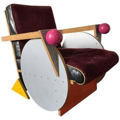 Peter Shire Prototype Armchair, Memphis Milano
