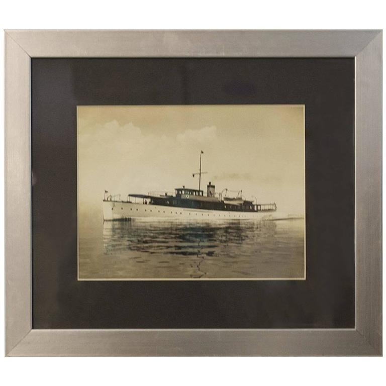 Original Rosenfeld Photo of New York Yacht Club Flag