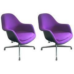 Charles & Ray Eames Ec-178 Lounge Chair Pair, Herman Miller