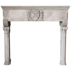 Early 20th Century Gothic Mantel in Sandstone
