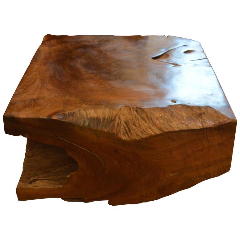 Andrianna Shamaris Natural Teak Wood Coffee Table Or Bench