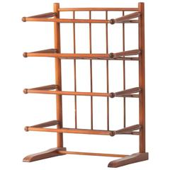 Mahogany Book Stand in the Style of Josef Frank