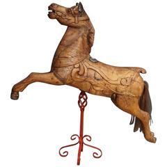 English Anderson Juvenile Carousel Horse, circa 1890s