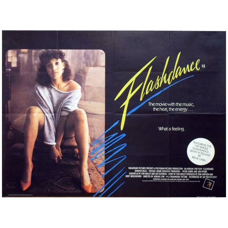 """Flashdance"" Film Poster, 1983"