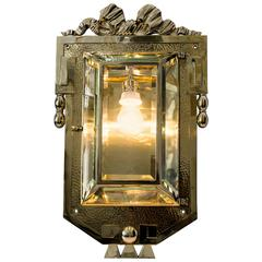 Very Beautiful and Big Art Nouveau Sconce, circa 1910s