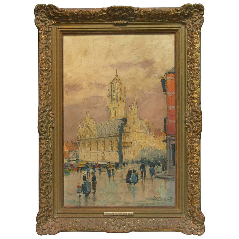 Gerhard Cohn Roemers, Oil on Canvas Painting For Sale